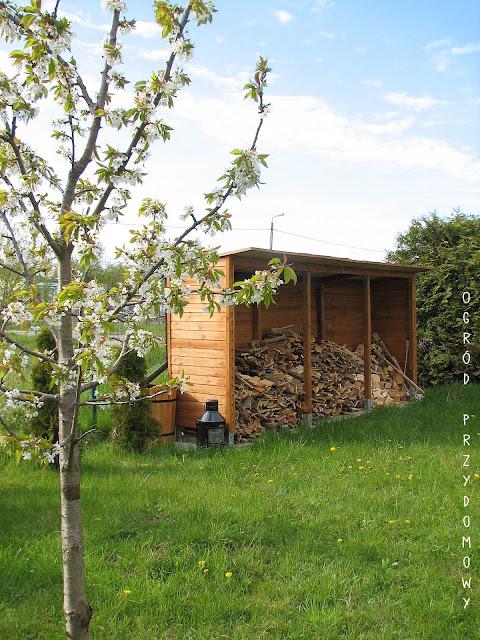 drewutnia w ogrodzie