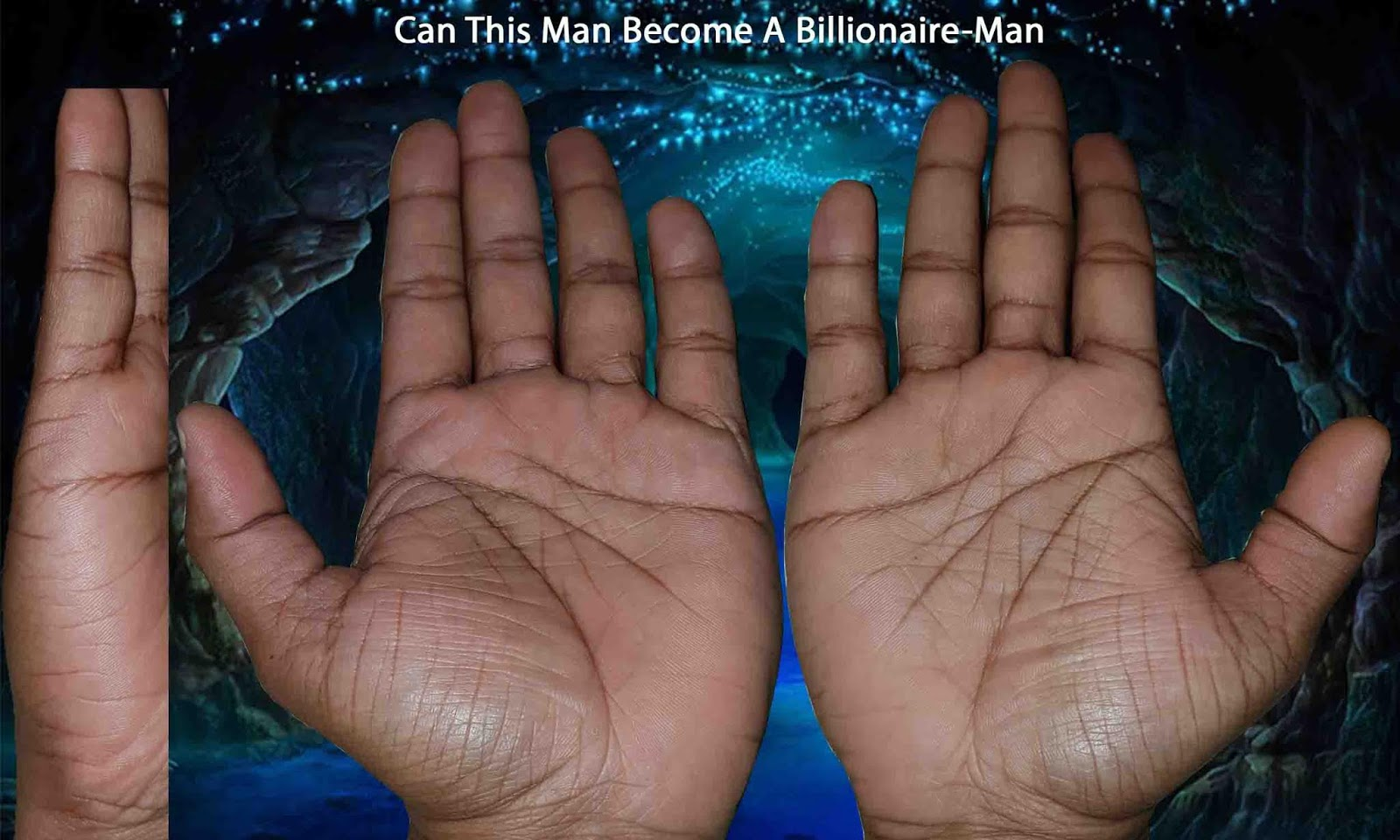 Can This Man Become A Billionaire-Man Case 2 - palmreading
