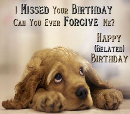 Belated Happy Birthday Message For A Friend Jpg 450x393 Wishes