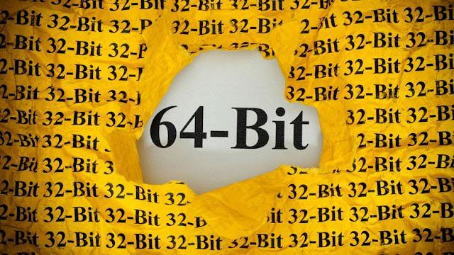 Perbedaan 64 bit dan 32 bit pada windows