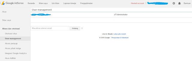 Cara Joint Venture Google Adsense