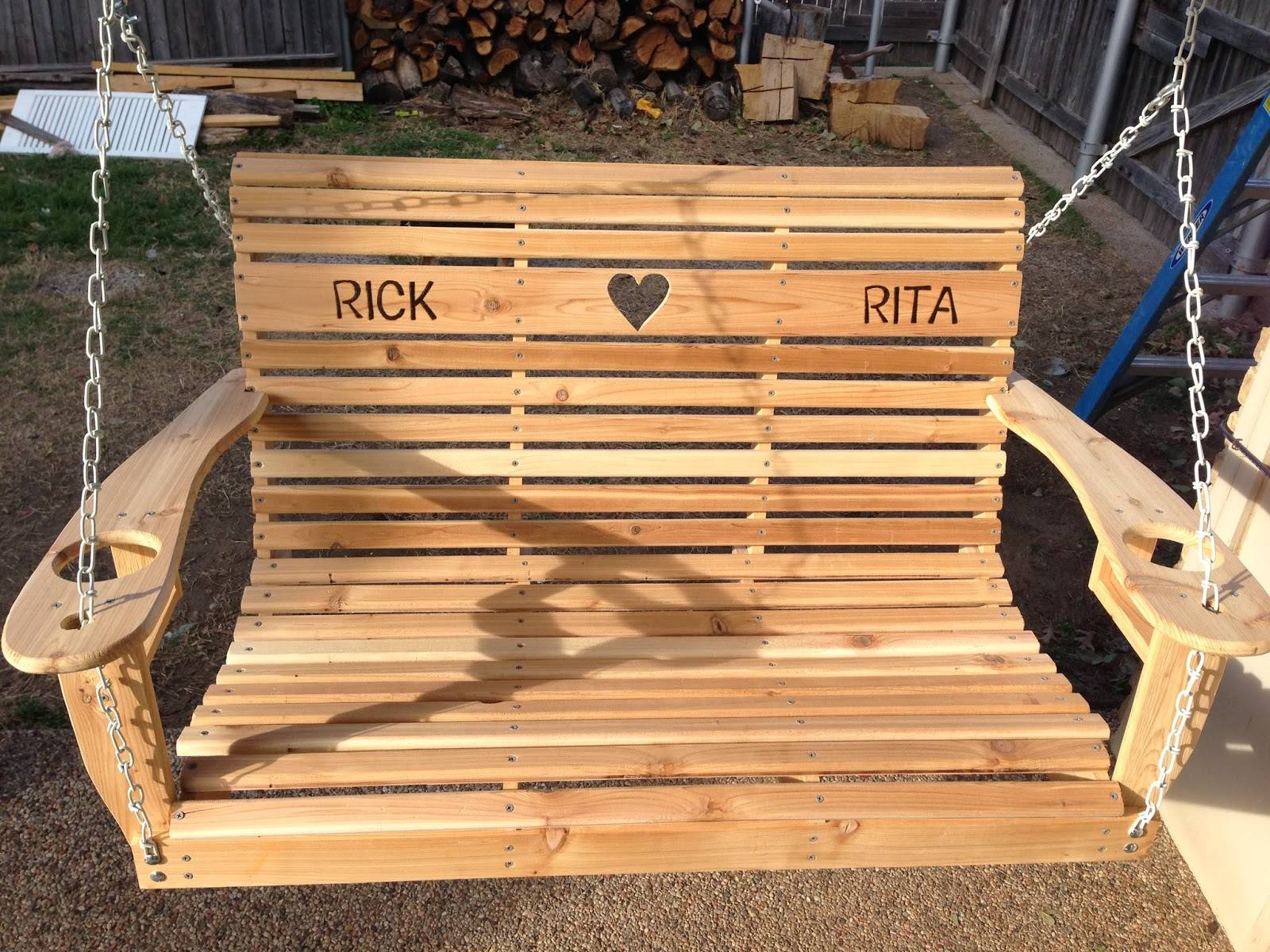 Wilker Dos - front porch swing DIY