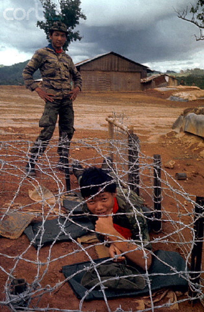 Barbed Wire in Vietnam War