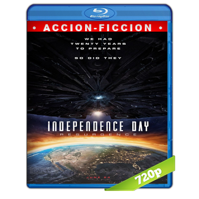 Dia De La Independencia Contraataque (2016) BRRip 720p Audio Trial Latino-Castellano-Ingles 5.1
