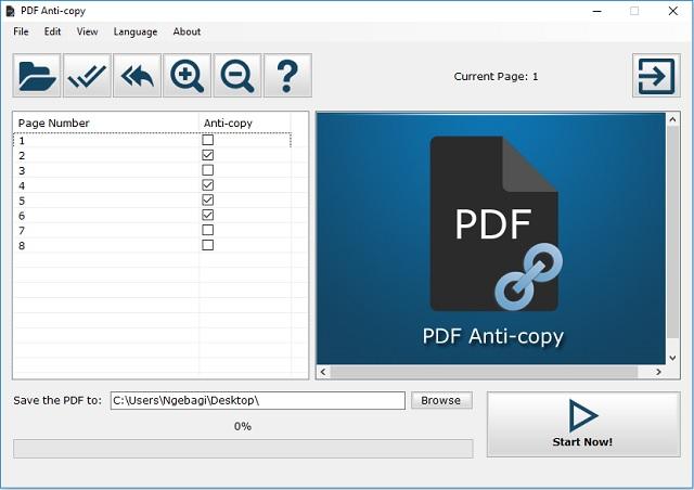 Cara melindungi halaman File PDF dari Copy Paste 3