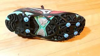 Chaussure Mizuno, crampon