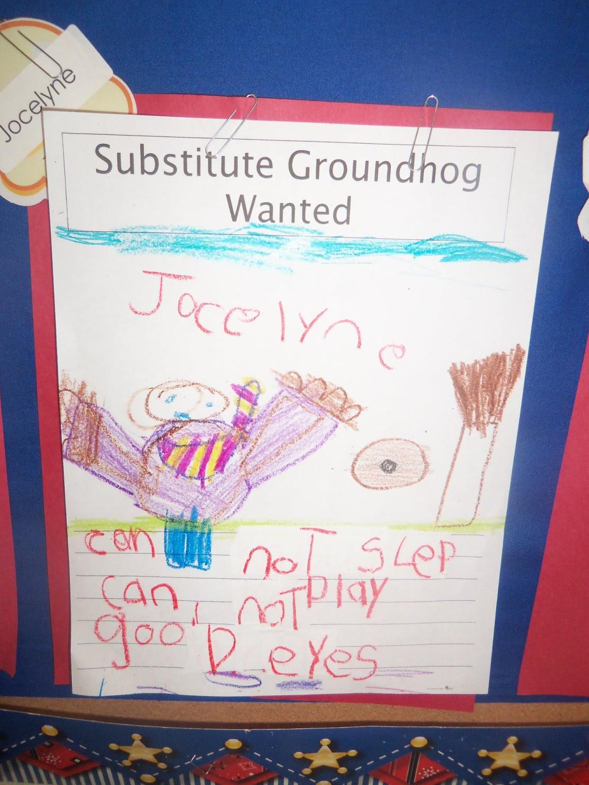 Mrs Wood S Kindergarten Class Groundhog Day
