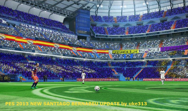 Santiago bernabeu stadium update pes 2013 for Puerta 6 santiago bernabeu