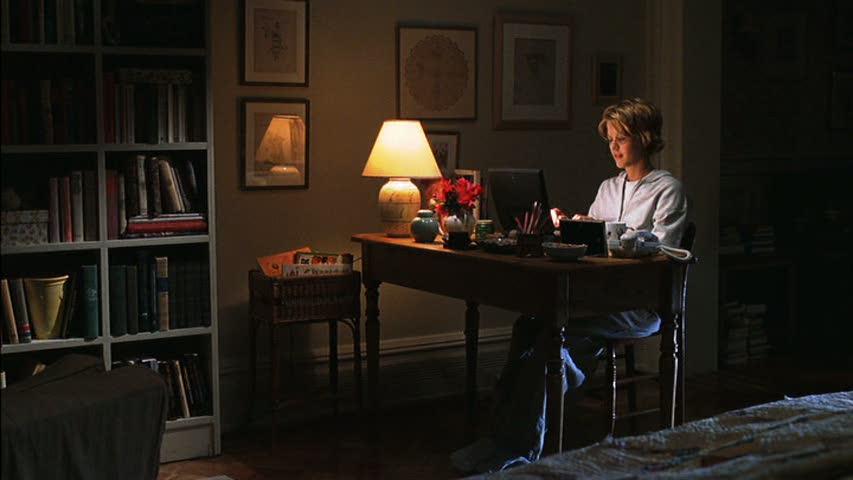 image result for movie still brownstone house you've got mail Meg Ryan Kathleen Kelly