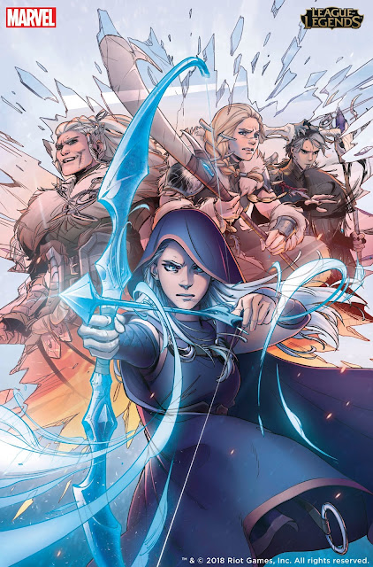 League of Legends Graphic Novels