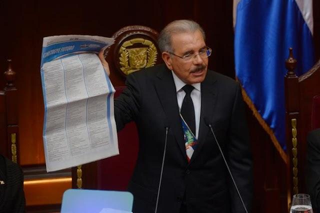 """Presidente Medina advierte que aún le """"queda mucho por hacer"""""""