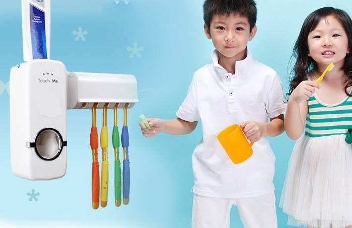 Bộ Lấy Kem Đánh Răng Tự Động Touch Me