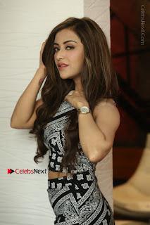 Telugu Actress Angela Krislinzki Latest Pos in Short Dress  0074.JPG