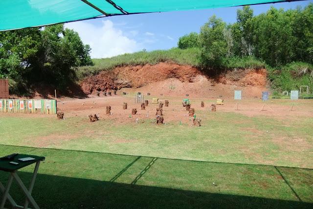 shooting-range 射撃場