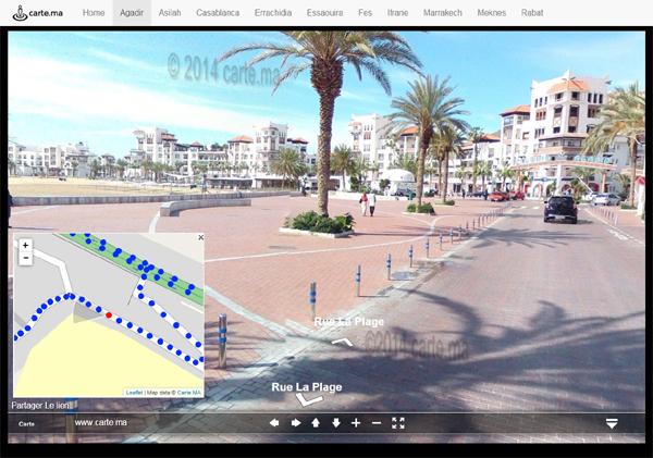 Street View d'Agadir