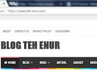 Begini Cara Mengaktifkan HTTP ke HTTPS TLD di Blogger