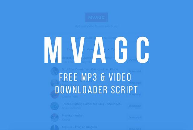 MVAGC – MP3 AGC Script - MP3 & Video Downloader PHP Script