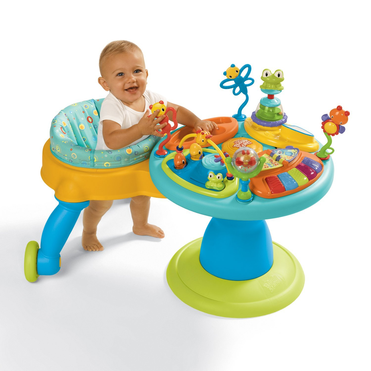 Bright Starts Around We Go Activity Station Doodle Bugs Cheap Baby Einstein Activity Table