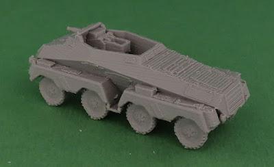 Schwerer Panzerspähwagen (75 mm) Sd Kfz 233 picture 2