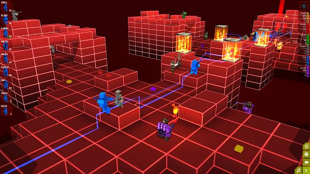 Lançado em Abril deste ano para os PCs , Cubemen 2 foi confirmado na