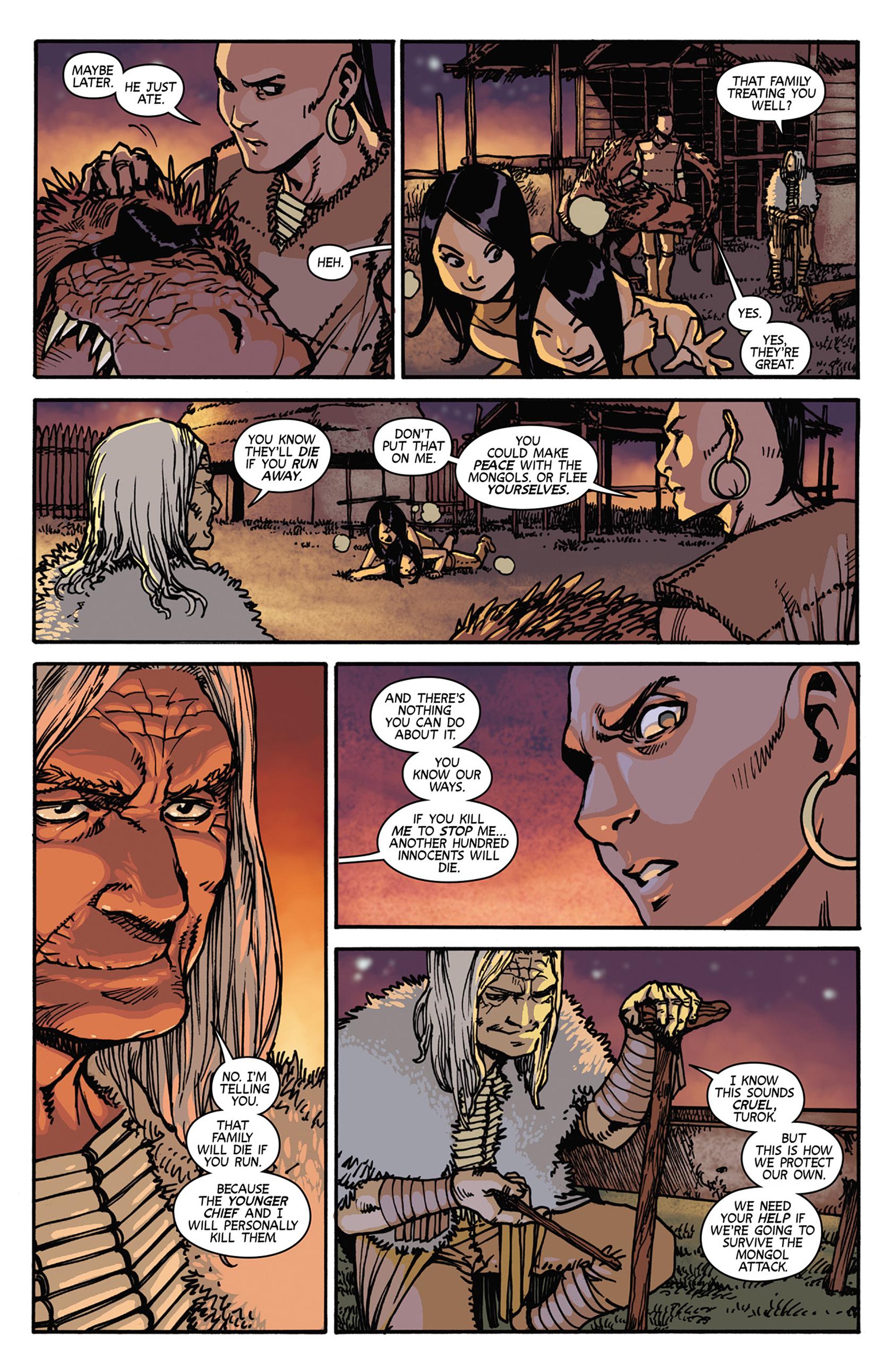 Read online Turok: Dinosaur Hunter (2014) comic -  Issue #7 - 5