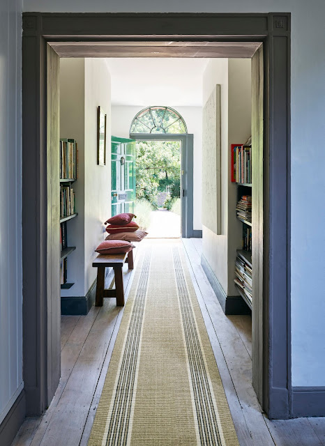 The best flooring types for different rooms in your home. From wood in the living room and wool carpets in the bedroom to vinyl in the bathroom, runners in the hallway to layering with rugs in the children's bedroom.