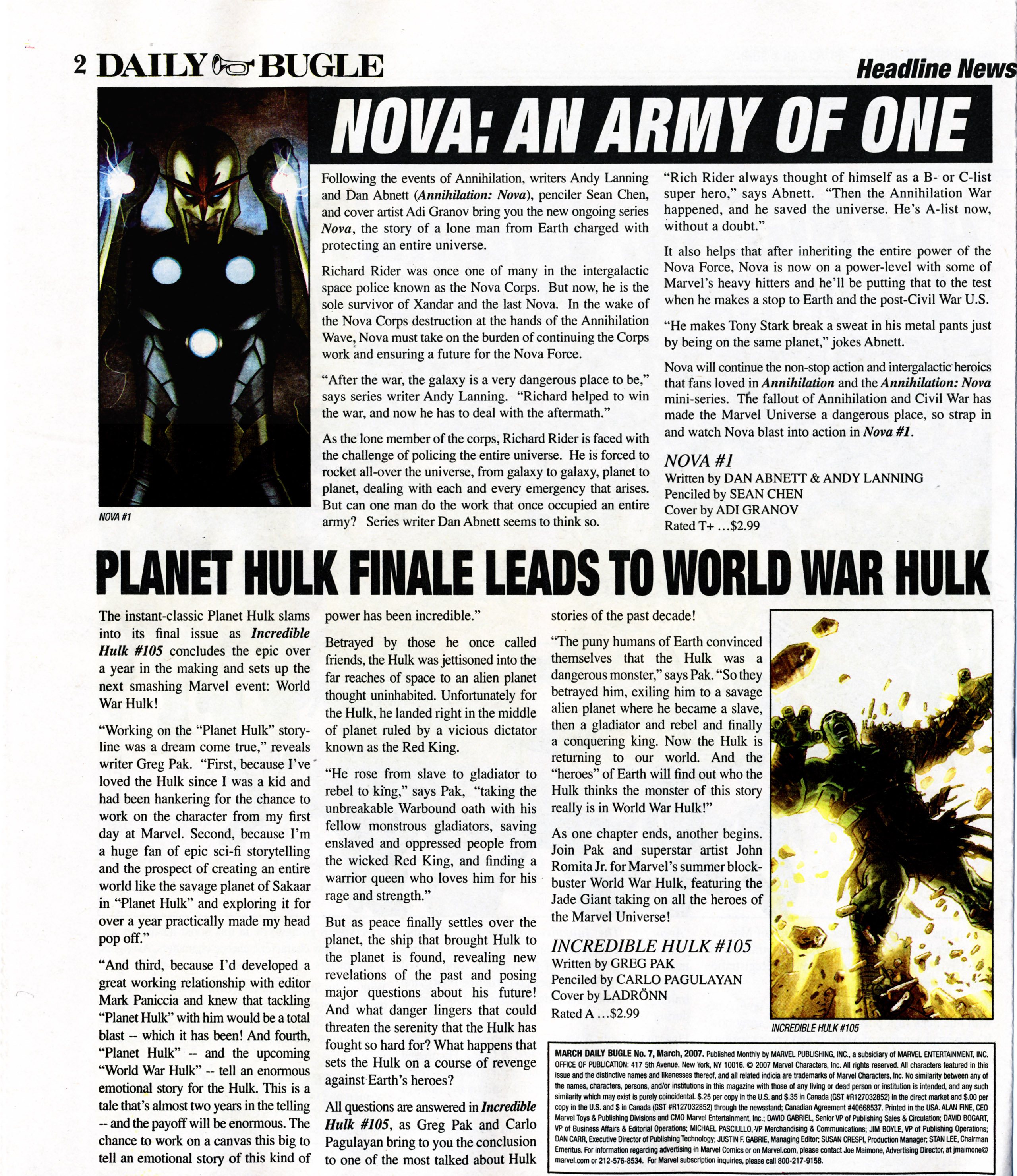 Read online Daily Bugle (2006) comic -  Issue #7 - 3