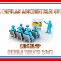 Perangkat Administrasi Guru Kelas Lengkap Sesuai Juknis 2017