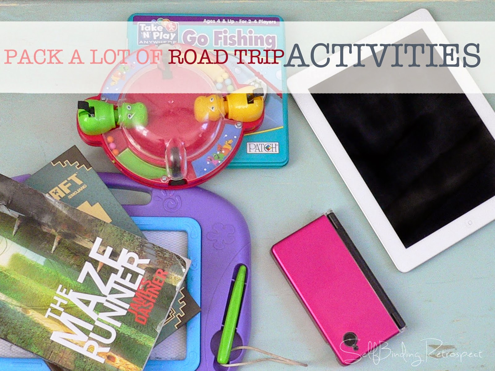 pack a lot of road trip activities