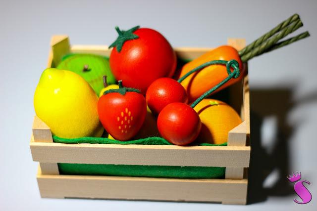 Obstkiste für den Kaufladen