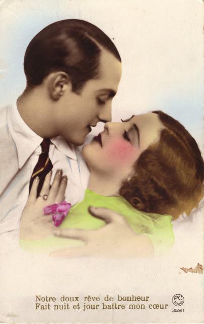 Vintage Romance Postcards Of The 1920s Vintage Everyday