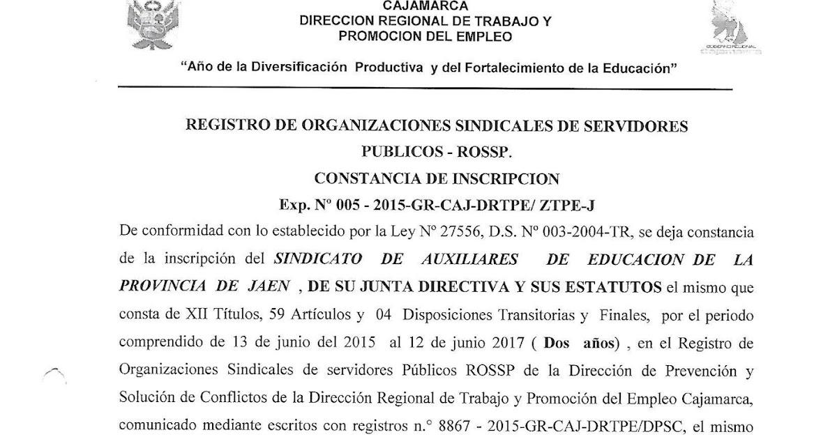 direccion regional trabajo pucallpa: