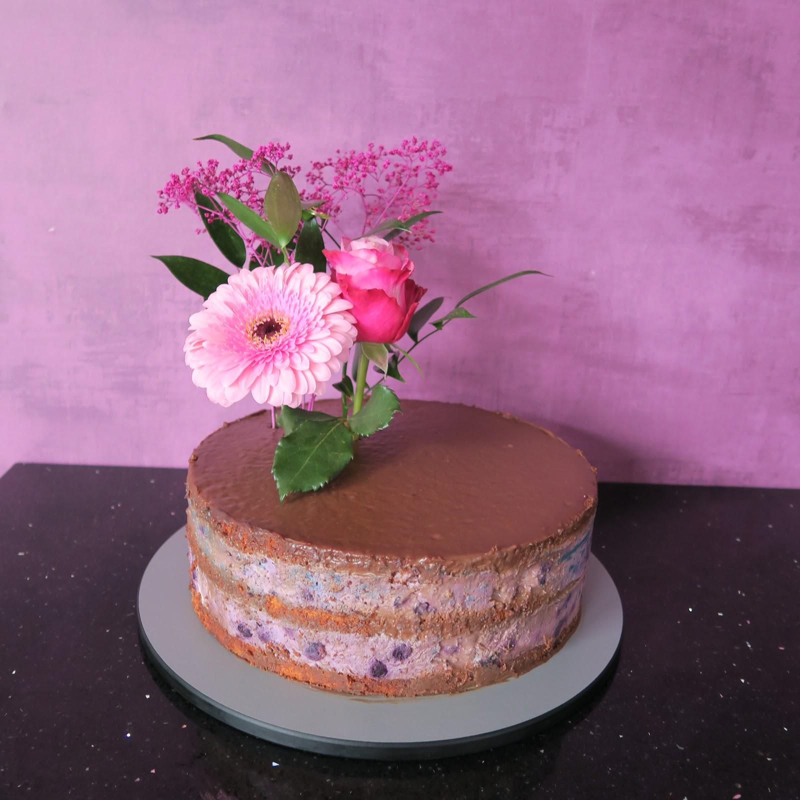 Bastelfalters Tortenwelt Torte Mit Echten Blumen