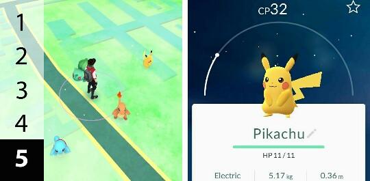 Mendapatkan Pikachu sebagai Pokemon starter