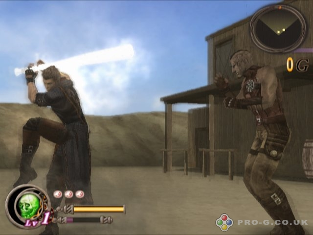 God Hand PS2 GAME ISO Gameplay 1