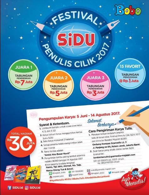 Festival Penulis Cilik SiDu 2017