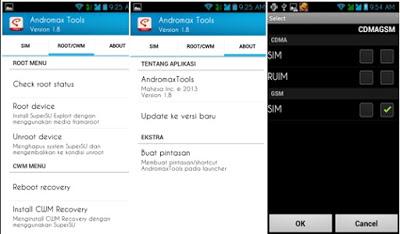 Download Andromax Tool v3.0 Bisa Langsung ROOT