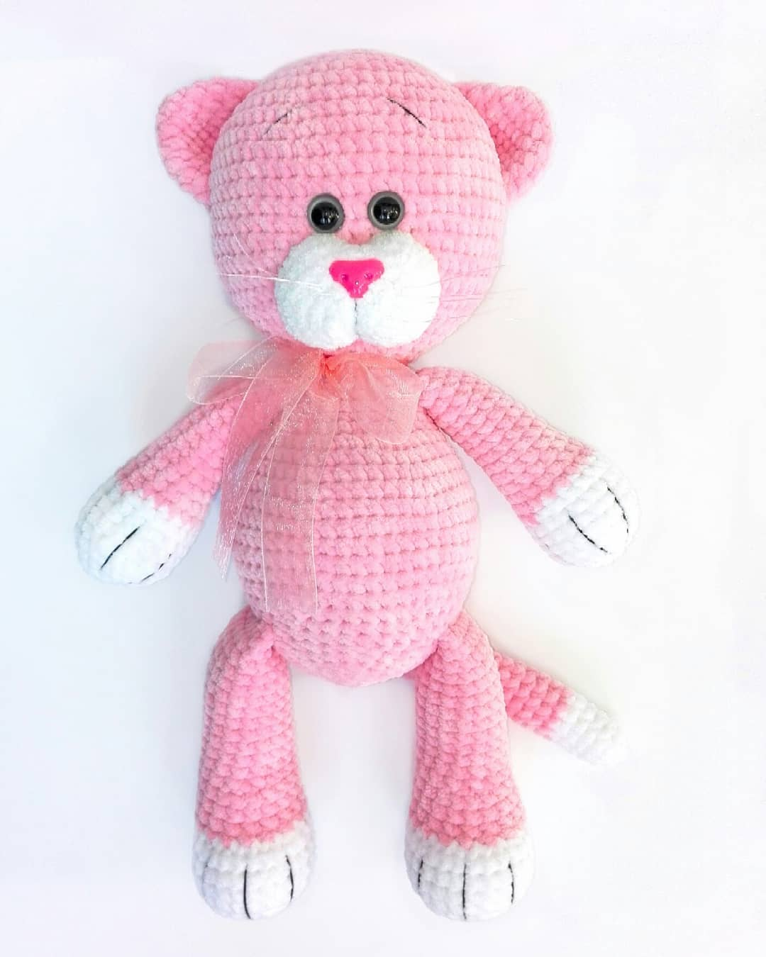 Amigurumi plush cat