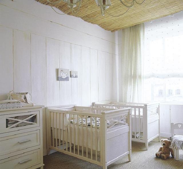 Dormitorios para bebes gemelos o mellizos for Cuando empezar a preparar la habitacion del bebe