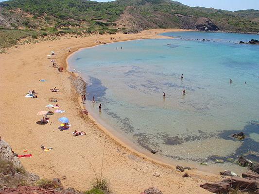 praias menorca
