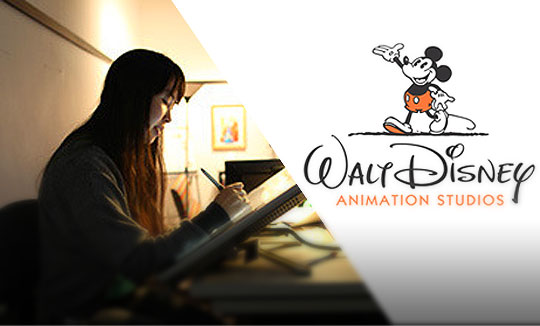 Prácticas de verano en Walt Disney Animation Studios