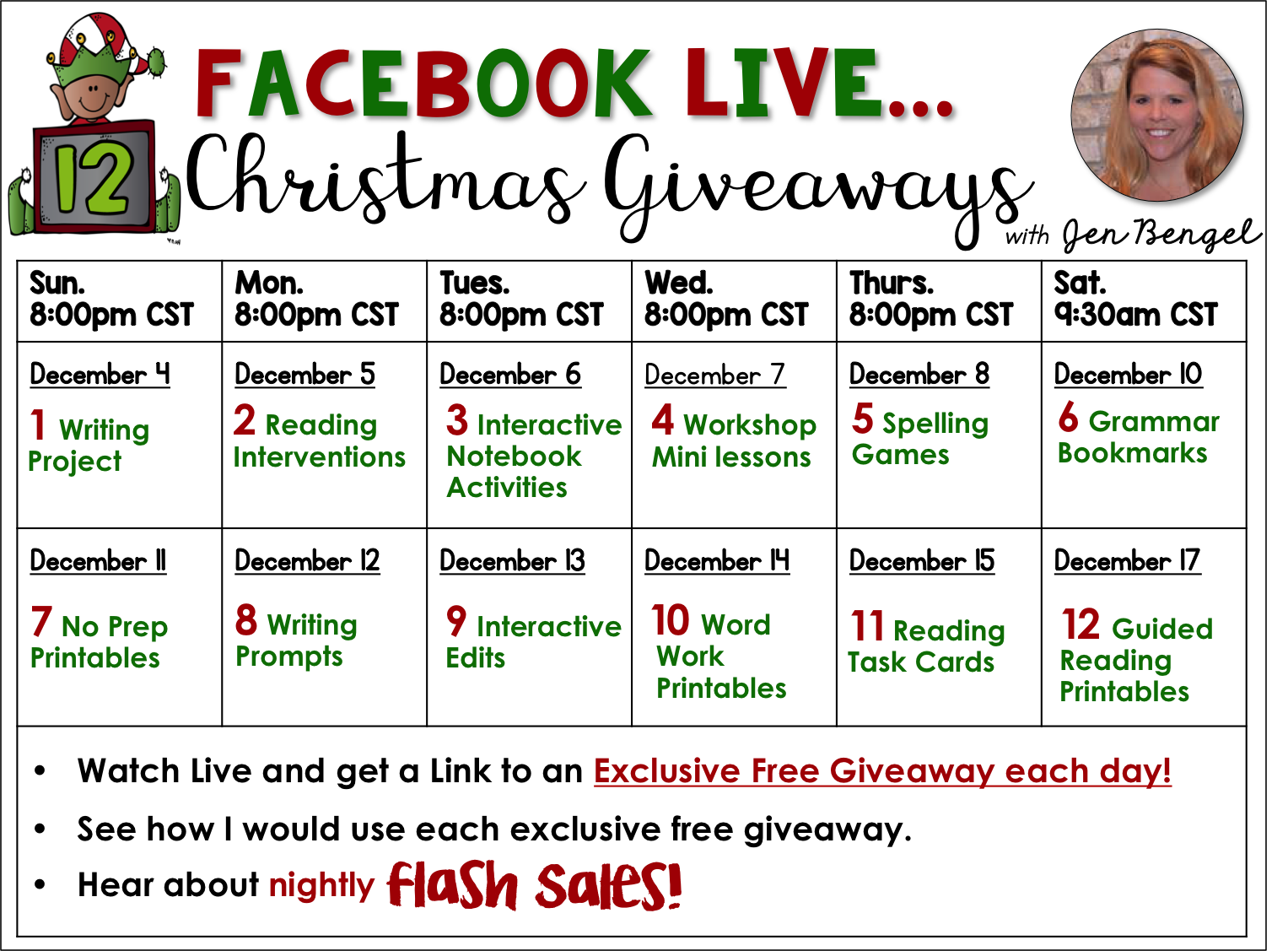 12 Days Of Christmas Giveaways Day Five