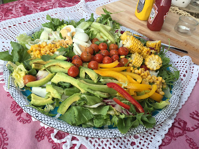 jedzenie na garden party
