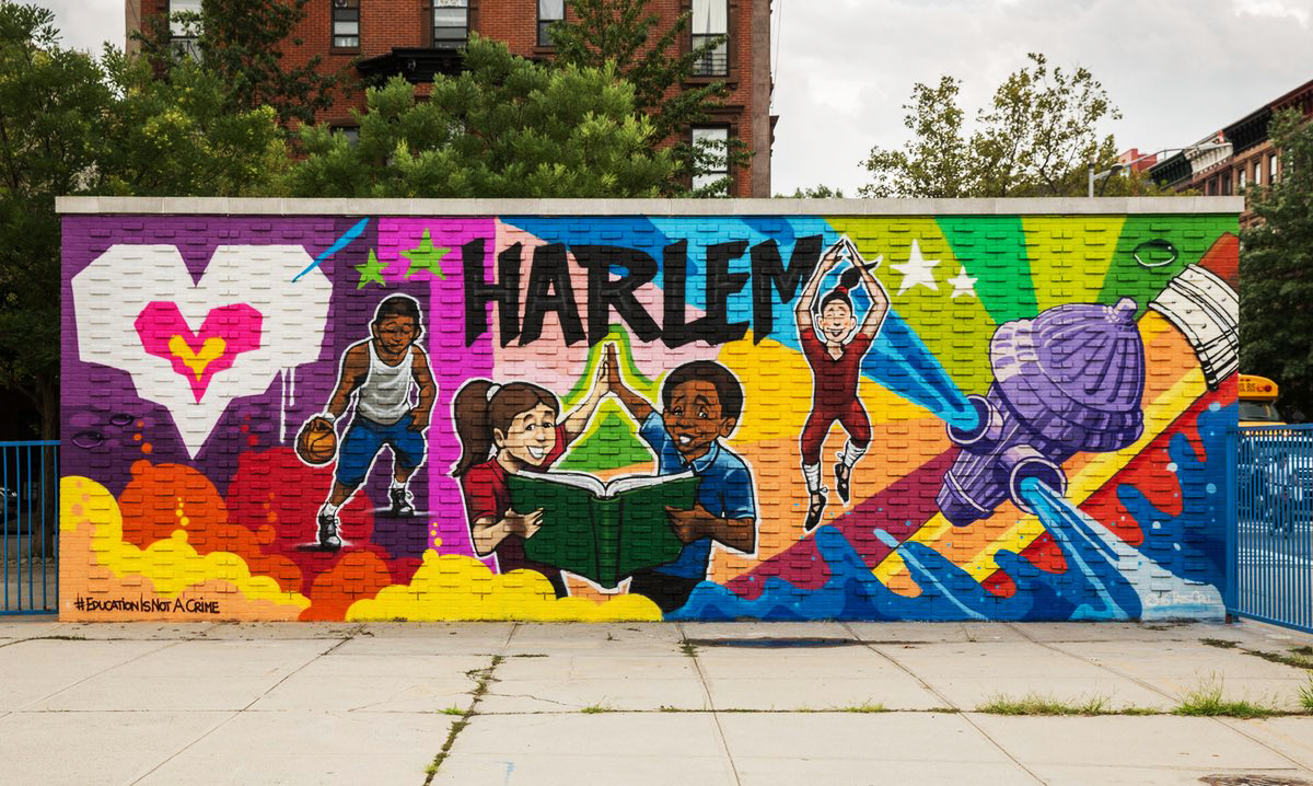 Baha 39 i historical facts 2017 education is not a crime for Education mural