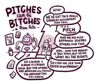 Pitches can be Bitches by  Bart Aalbers