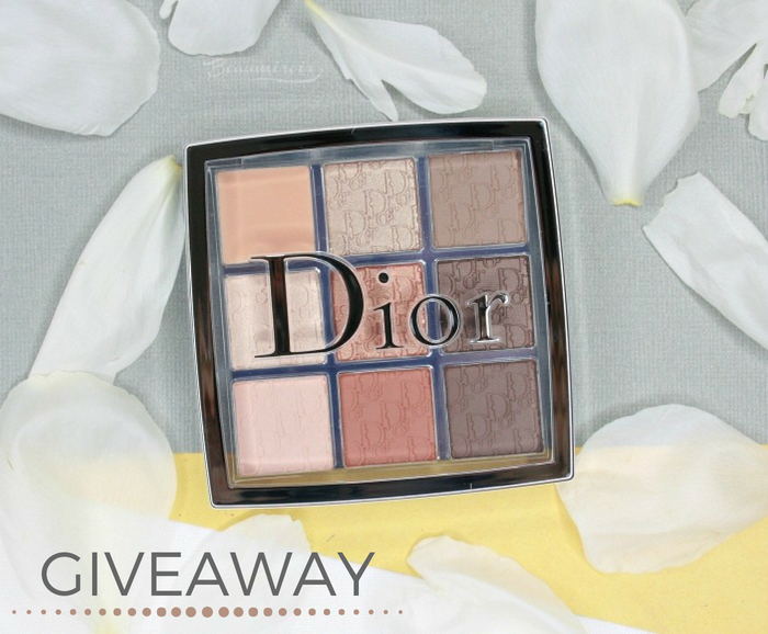 makeup beauty giveaway free dior eye palette