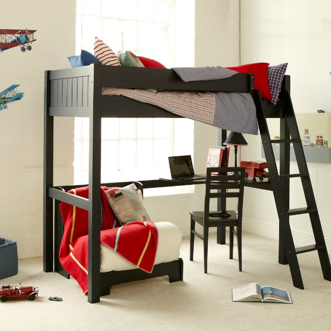 Save-Money-&-Space-with-These-Great-Space-Saving-Kids-Beds-room-to-grow-fargo-painswick-blue-high-sleeper-with-futon-and-desk
