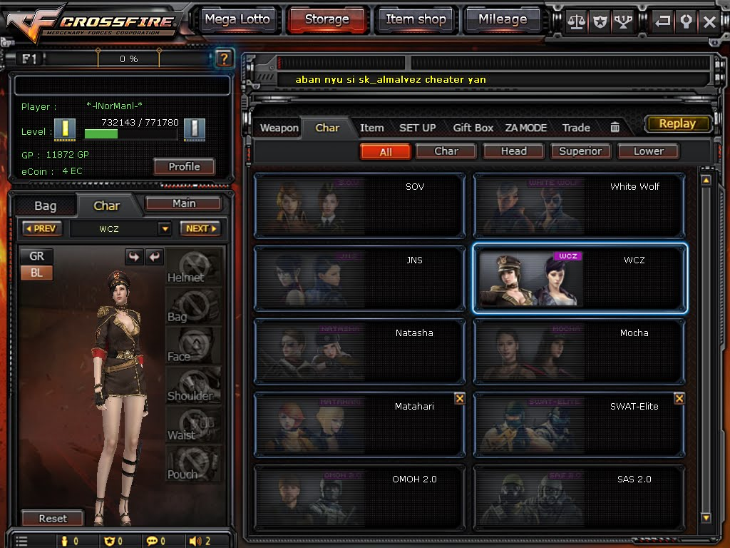 Free Crossfire Account Rank 1 Bar Gold 2 Lotto 6 Ecoin