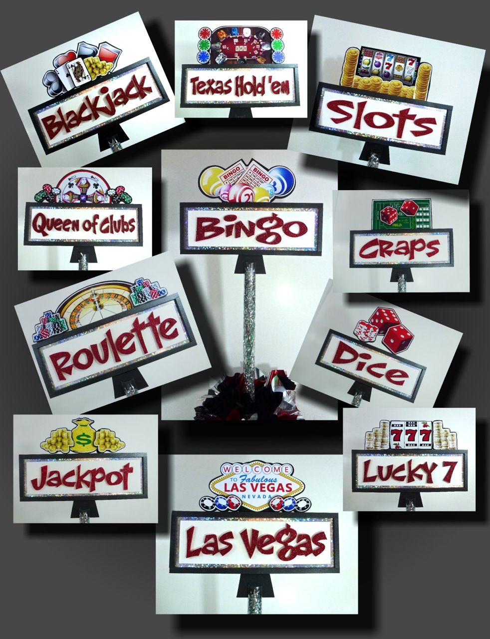 Vegas Themed Party Games
