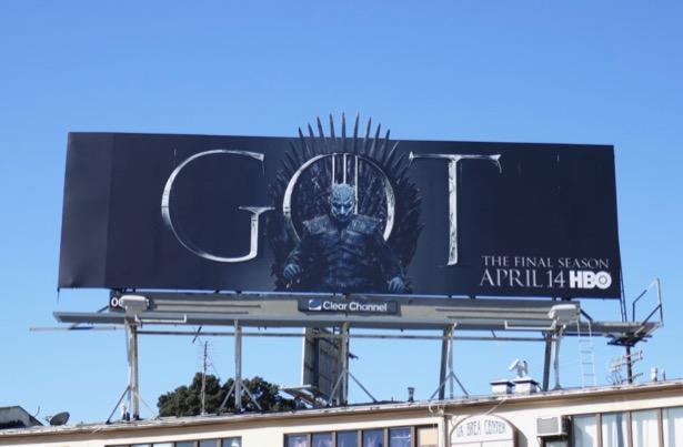 Game of Thrones final season 8 billboard